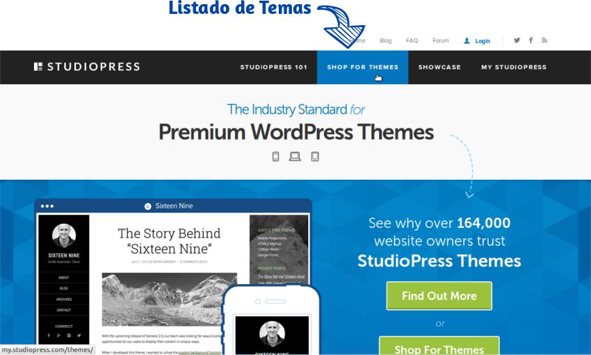 Como elegir tema StudioPress 01