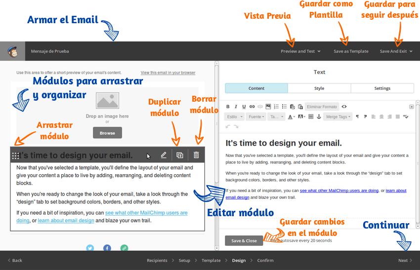 Enviar emails masivos Mailchimp 15
