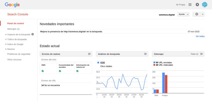 Cómo aparecer en Google 07