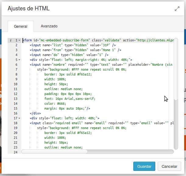 Modulo HTML Beaver Builder25