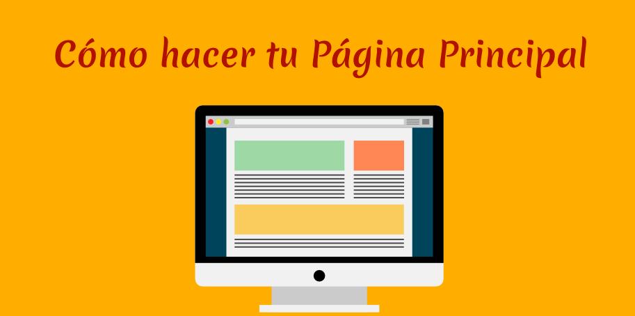 Elige qué poner en tu página principal con WordPress