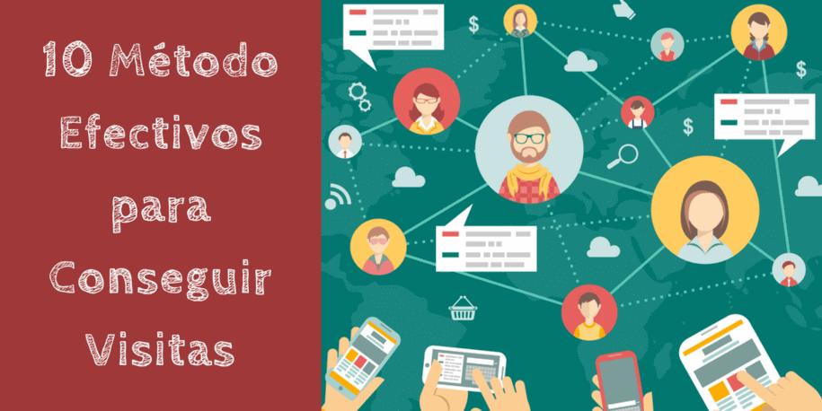 Los 10 métodos más efectivos para aumentar las visitas hacia tu página