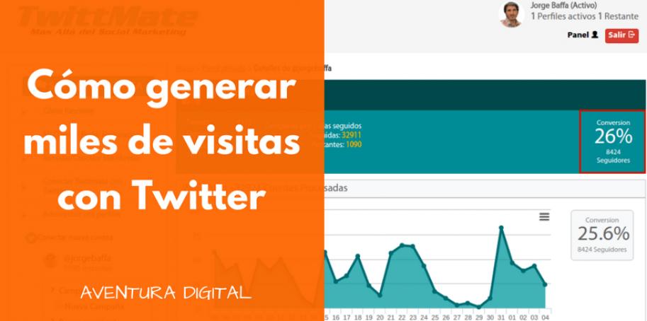 Generar Visitas con Twitter para Twitter