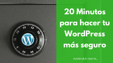 20 Minutos WordPress Seguro