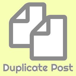 Plugin Duplicate Post