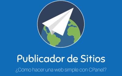 Cómo hacer una web simple con CPanel en 3 minutos
