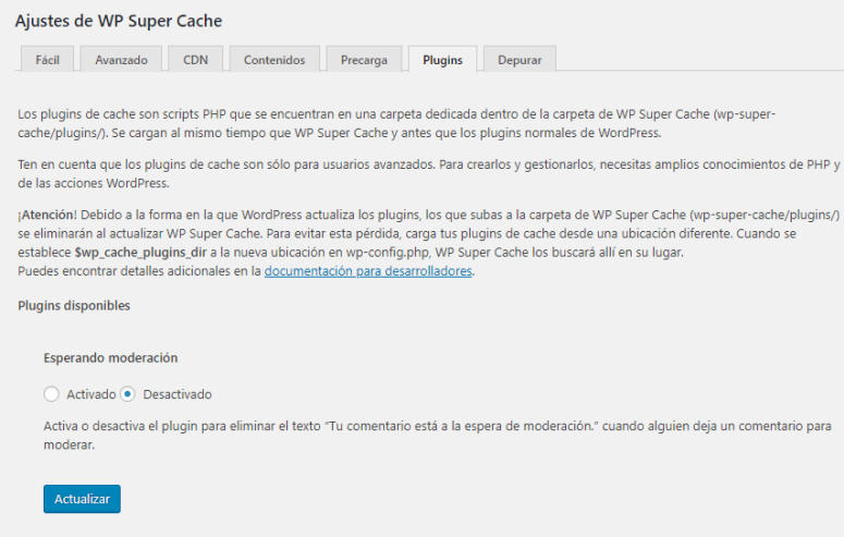 wp super cache plugins