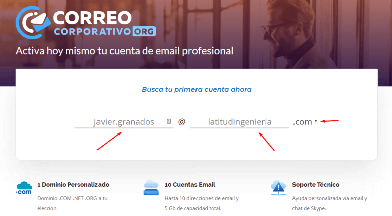 Correo corporativo Gmail