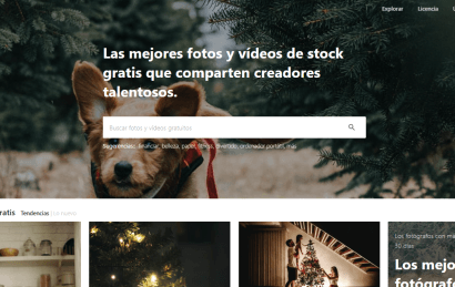 Pexels: Fotografías profesionales gratis para tu web